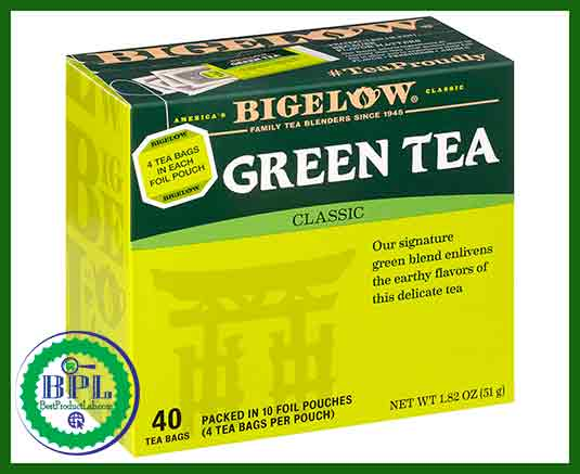 Best Green Tea Review Brands-Bigelow Classic Green Tea Bags