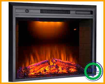Valuxhome 36'' Electric Fireplace Heater