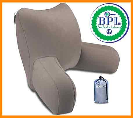 HOMCA Inflatable Backrest Pillow