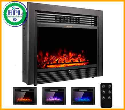 YODOLLA 28.5'' electric fireplace