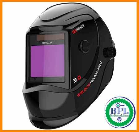 YESWELDER Large Viewing Screen Auto-darkening Welding Helmet