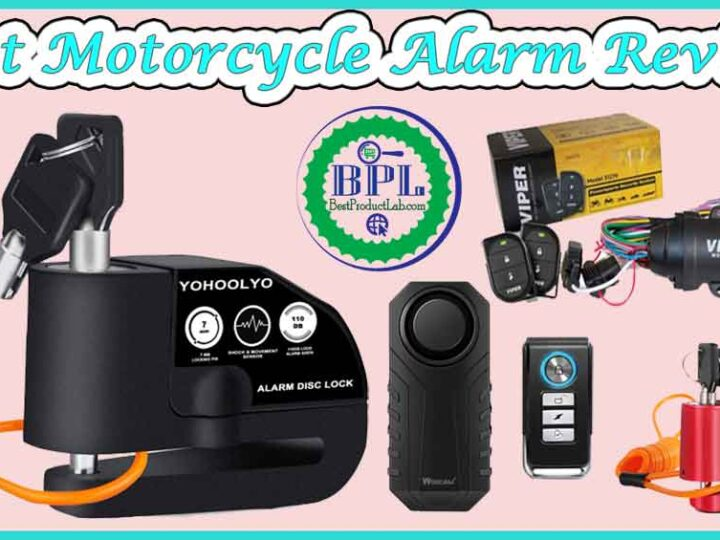 10 Best Motorcycle Alarm Review of 2021